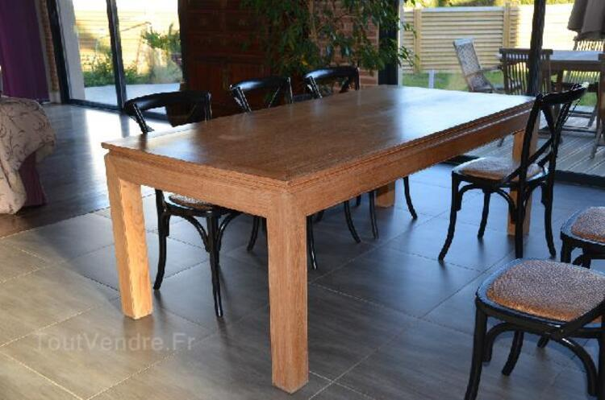 Vends table salle à manger design bois 95269234