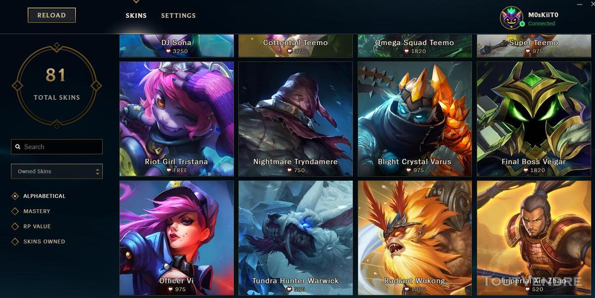 Vente Compte League of legends 332329867