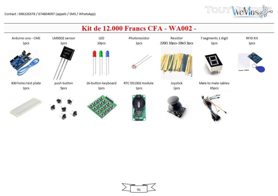 Vente de KIT ARDUINO, modules, shield, composant électroniqu 739043496
