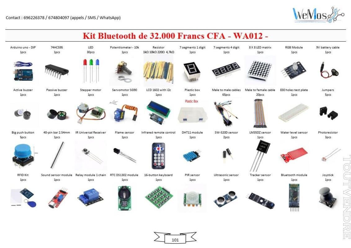 Vente de KIT ARDUINO, modules, shield, composant électroniqu 739043499