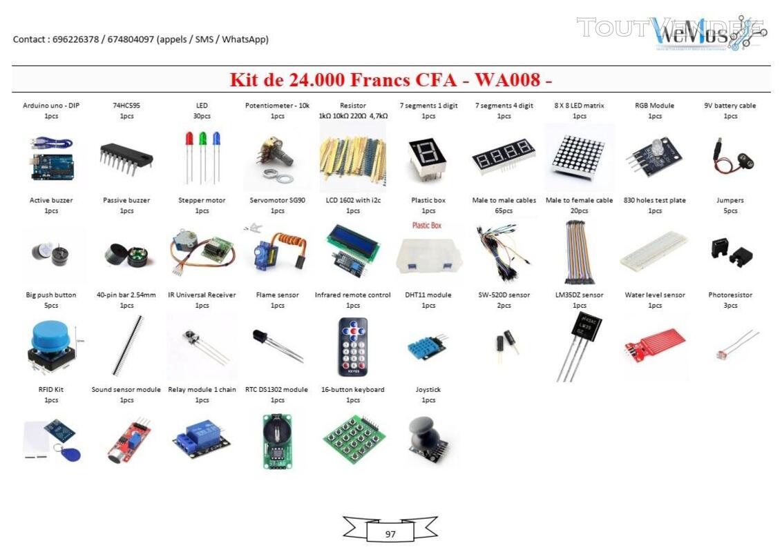 Vente de KIT ARDUINO, modules, shield, composant électroniqu 739043505