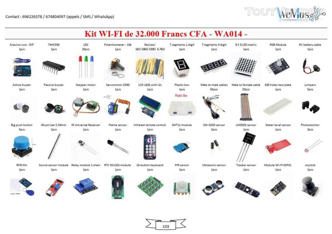 Vente de KIT ARDUINO, modules, shield, composant électroniqu 739043511