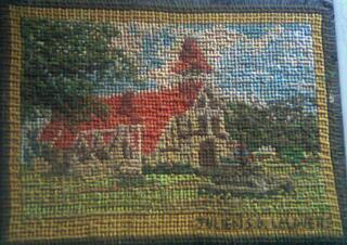 Vente de petit tapisserie fait de point de croix