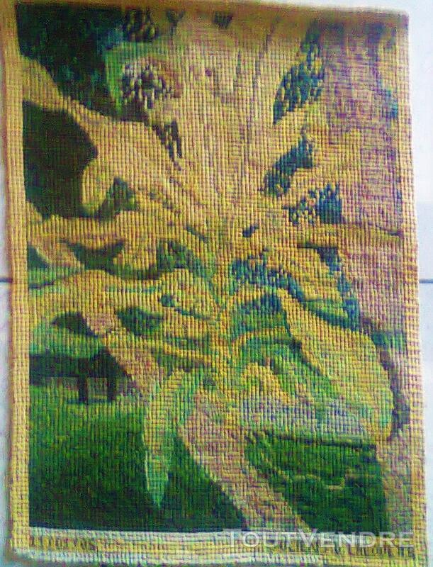 Vente de tapisserie canevas fait de point de croix 137868725