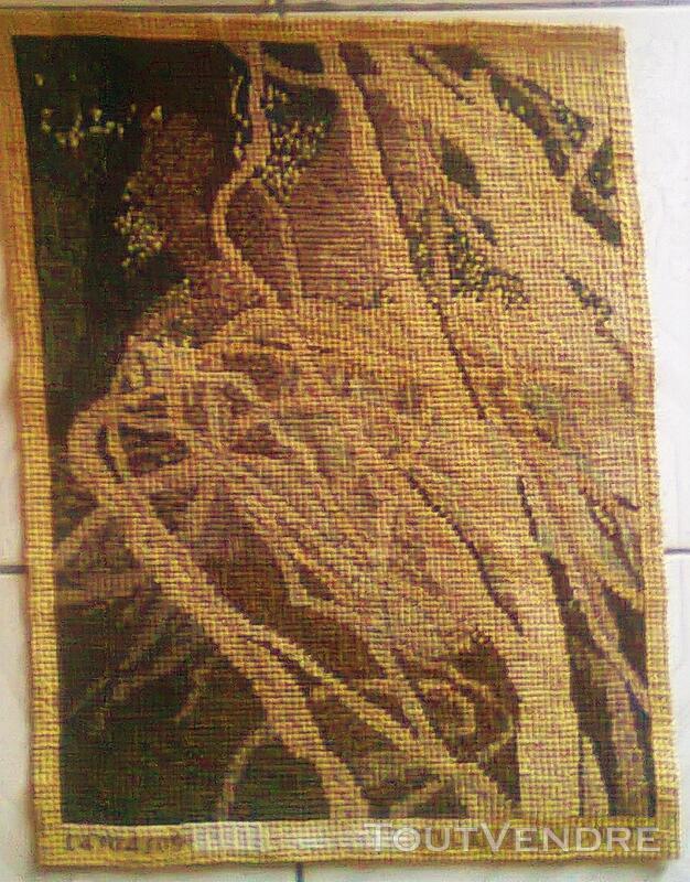 Vente de tapisserie canevas fait de point de croix 137868739