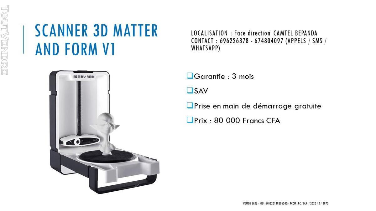 Vente des imprimantes 3D sur douala 741104088