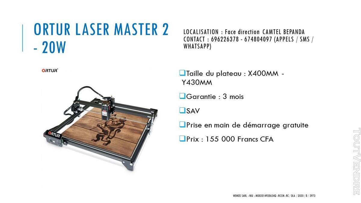 Vente des imprimantes 3D sur douala 741104097