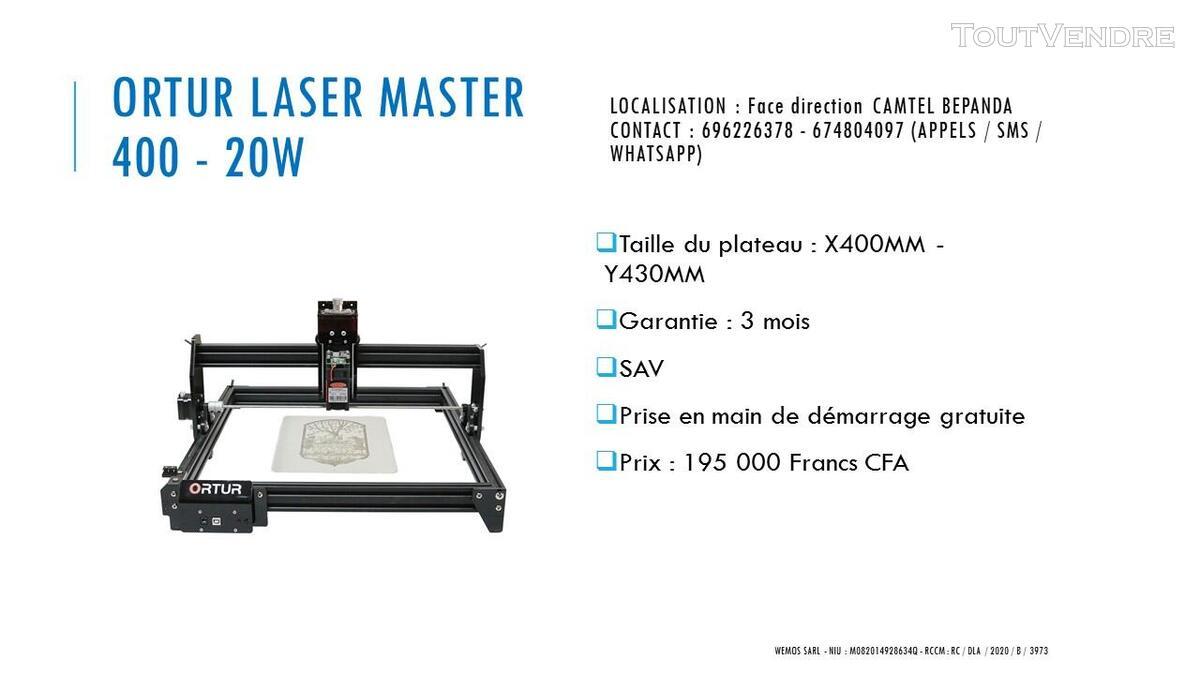 Vente des imprimantes 3D sur douala 741104100