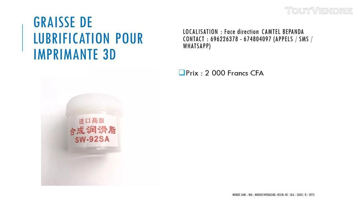 Vente des imprimantes 3D sur douala 741104118