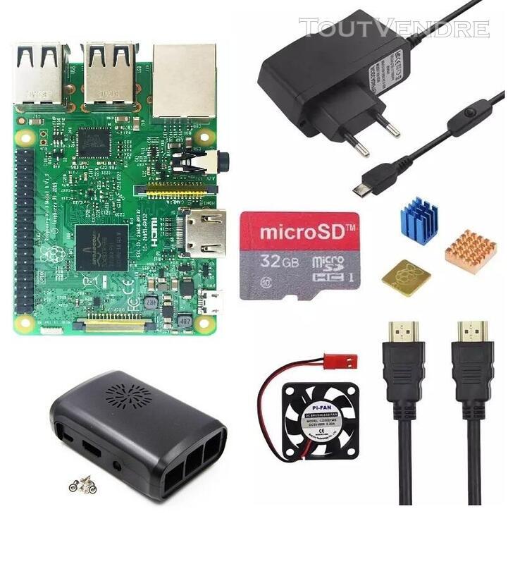 Vente des kits complets Raspberry Pi 4 - 8Gb de ram 774560429