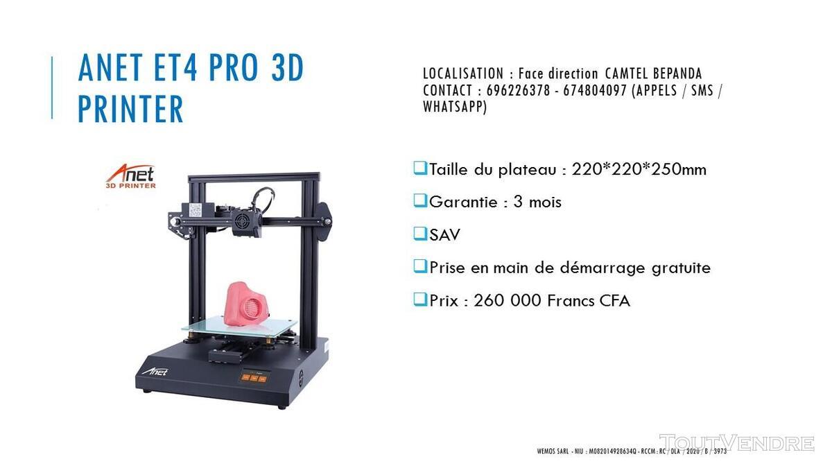 Vente des Scanners 3D sur douala 741349679
