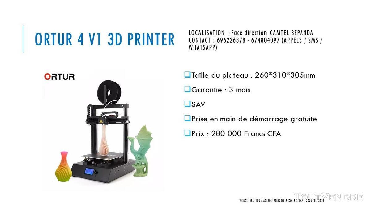 Vente des Scanners 3D sur douala 741349685