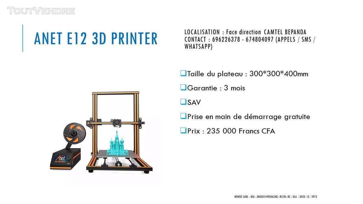 Vente des Scanners 3D sur douala 741349688
