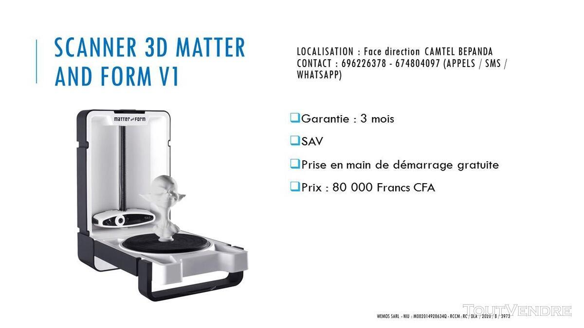 Vente des Scanners 3D sur douala 741349697