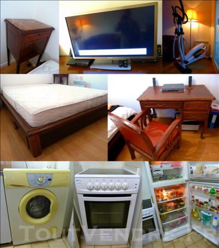 Vente lot mobilier style colonial: Salon - Chambre - Cuisine 80586819