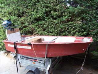 Vente petite barque