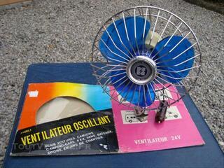 Ventilateur oscillant 24 volts