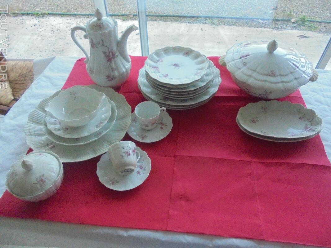 Véritable service porcelaine de Limoges. 615217266