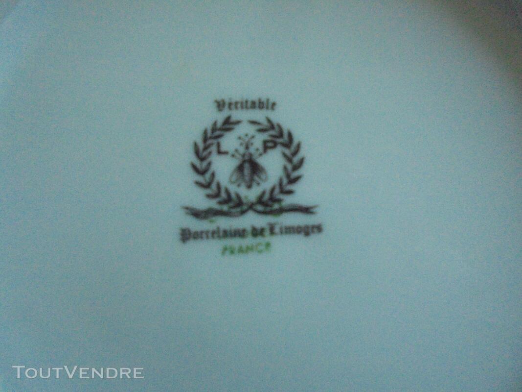 Véritable service porcelaine de Limoges. 615217269