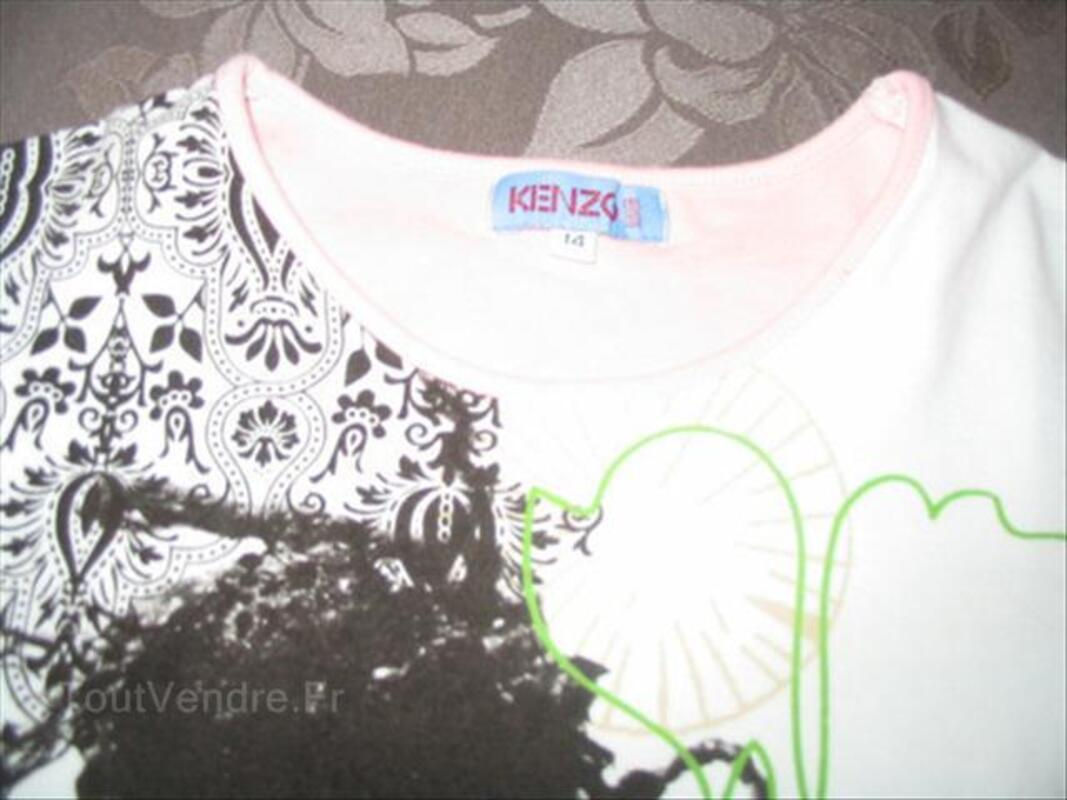 Véritable tee-shirt KENZO taille 14 ans neuf 56260593
