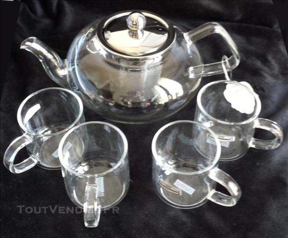 Verre anti-calorique teapot +4tasse P-001 84750819