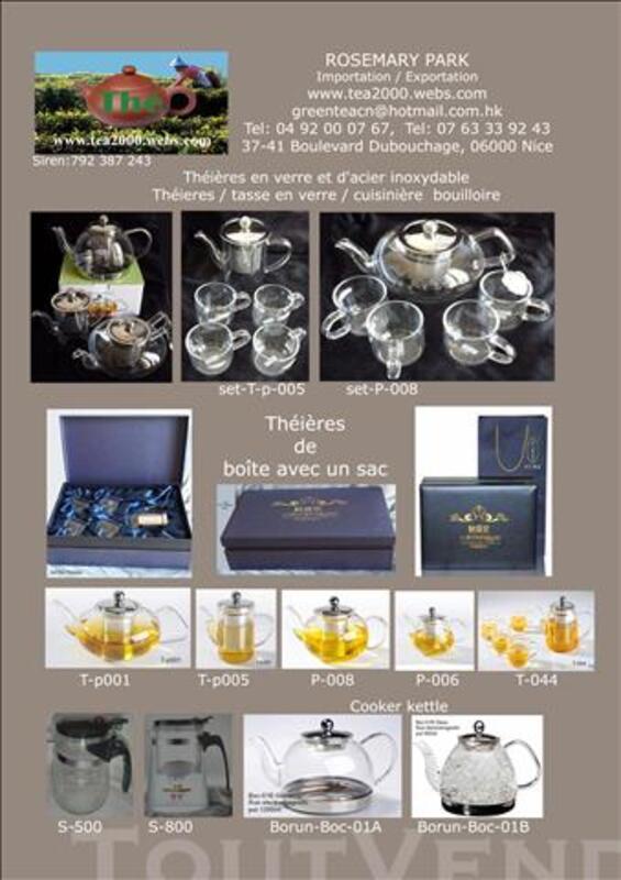 Verre anti-calorique teapot +4tasse P-001 84750820