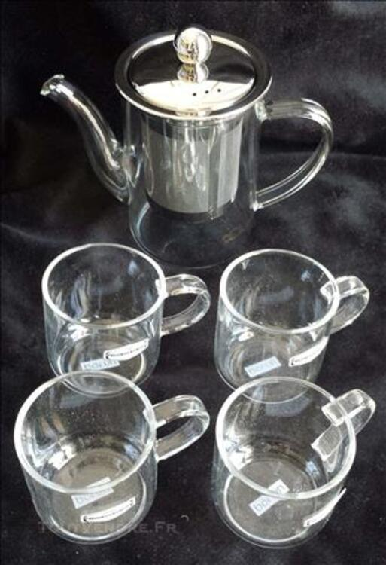 Verre anti-calorique teapot +4tasse 84750815
