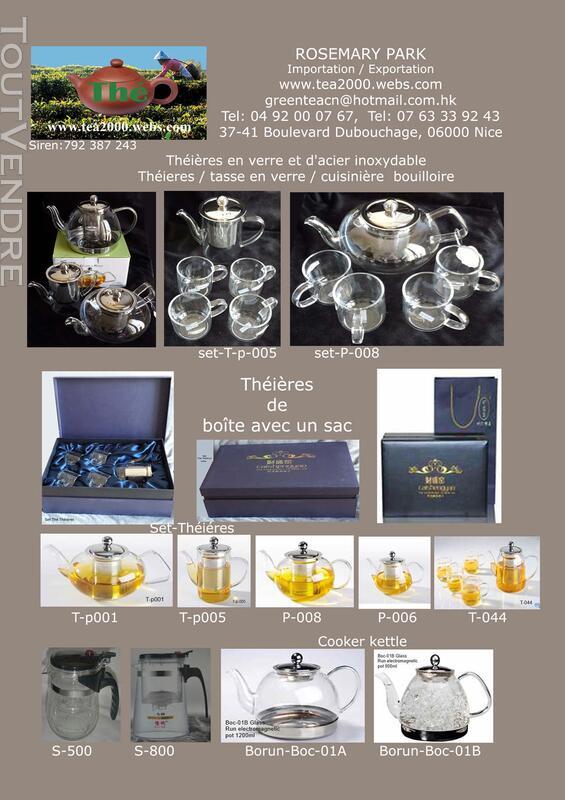 Verre anti-calorique teapot 154825697