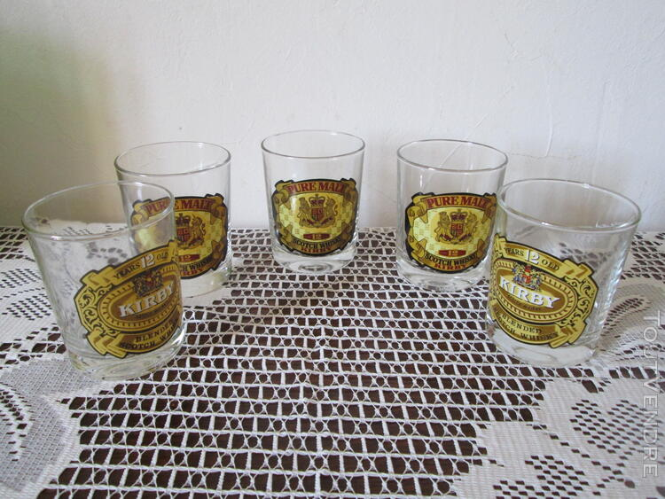 Verres à whisky KIRBY (5) 171302710