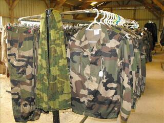 Veste F2 et pantalon F2 de treillis militaire Airsoft