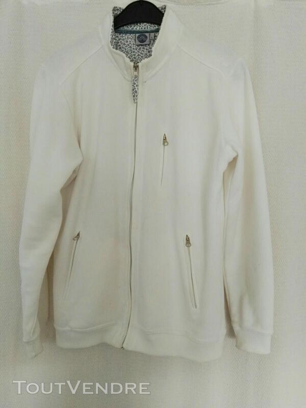 Veste lainage blanche 559260047