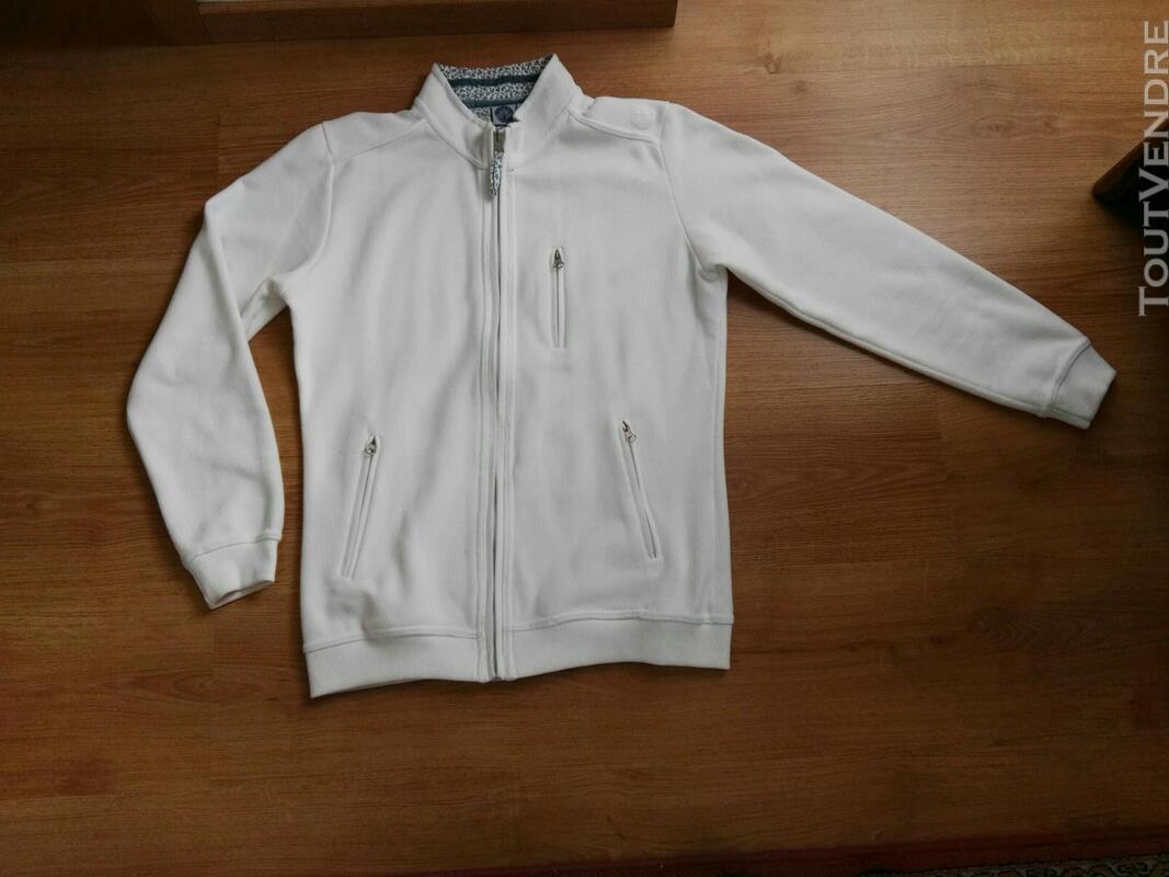 Veste lainage blanche 559260053