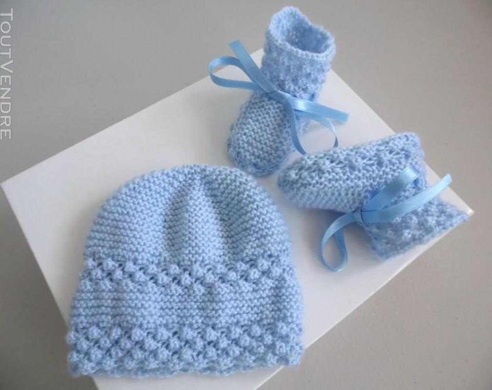 Vetement bébé,femme,enfant, tricot laine faitmain 200027202