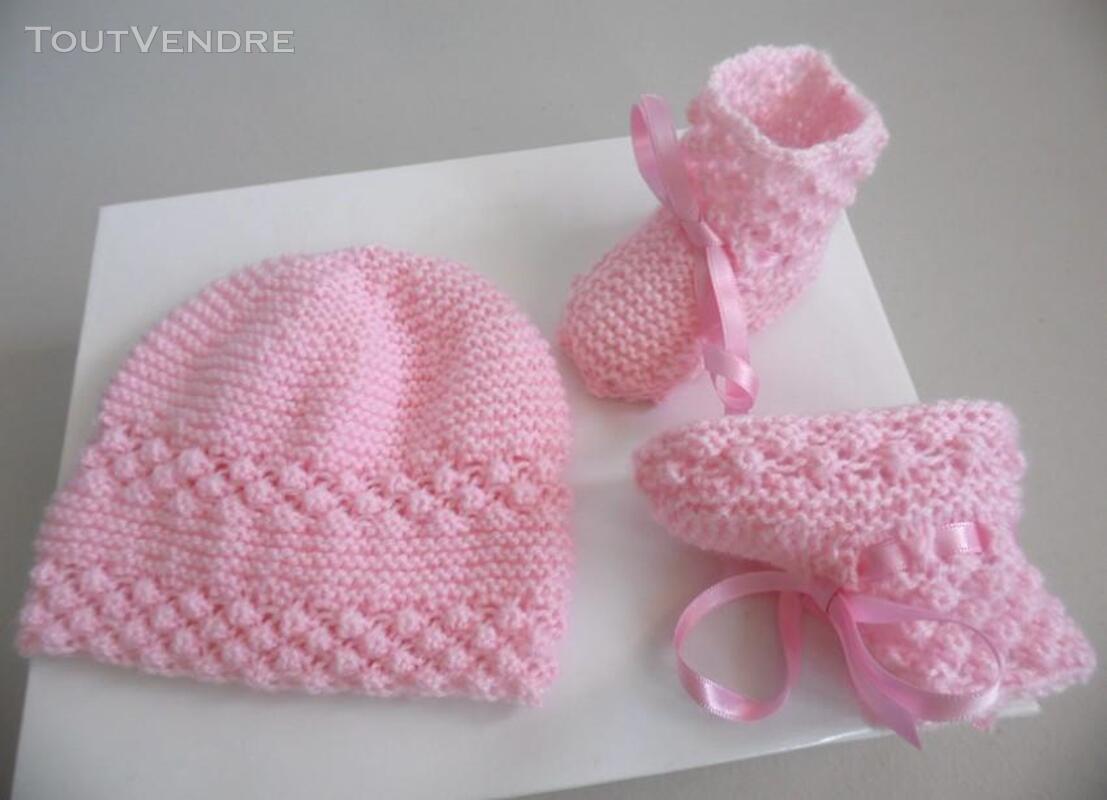 Vetement bébé,femme,enfant, tricot laine faitmain 200027205