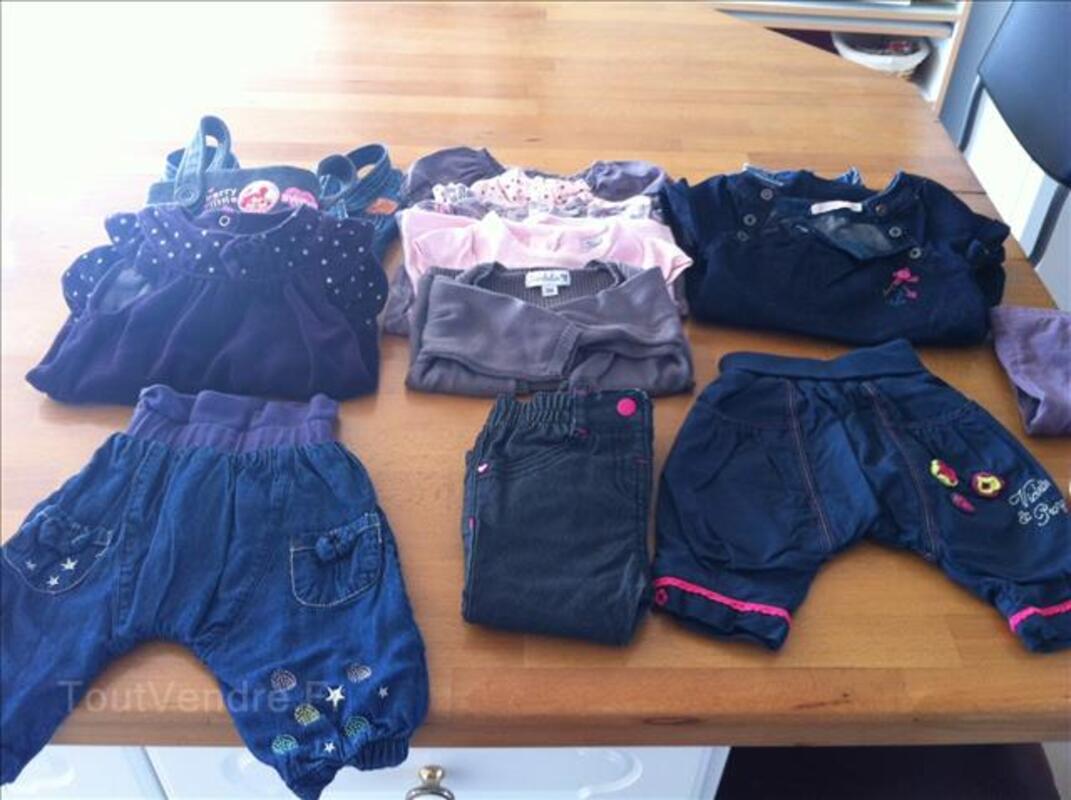 Vêtements bébé fille 3 6 9 mois hiver 97962760