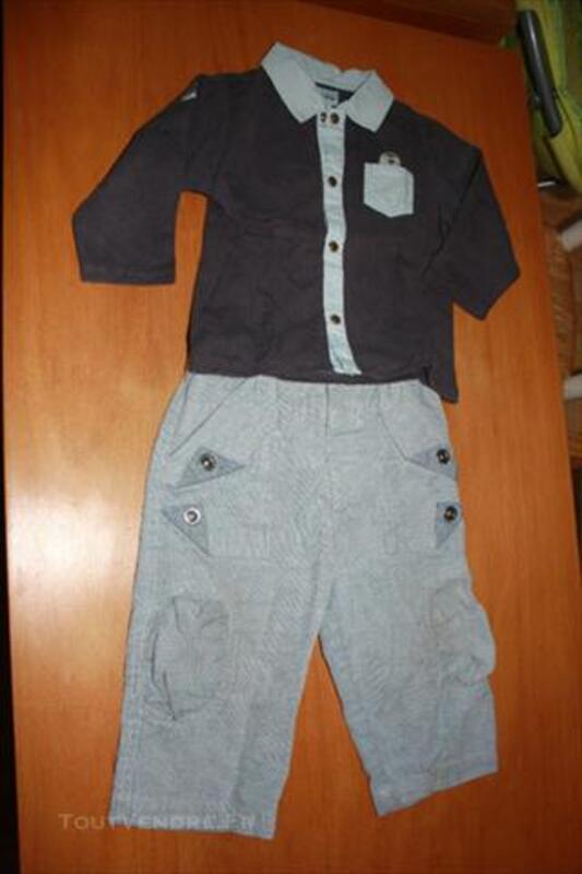 Vêtements bébé garçon 12 mois Hiver 73969070