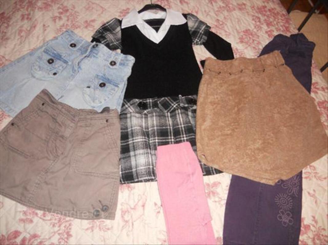 Vêtements fille taille 8 ans 54462606