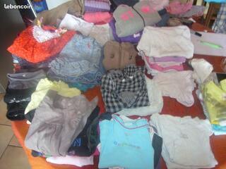 Vêtements filles du 6 mois au 5 ans