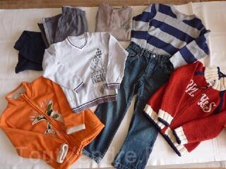 Vêtements garçon hiver 6ans en parfait état LOT 1