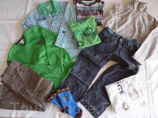 Vêtements garçon hiver 8ans en parfait état LOT 1