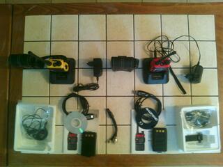 VHF/UHF Récepteur émetteur Talki-Walki BAOFENG UV-5R+ (1/5w)