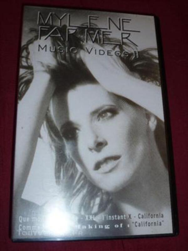 VHS Mylène Farmer music videos II 44281782