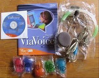 ViaVoice Millenium Edition1.0.logiciel de dictée vocale