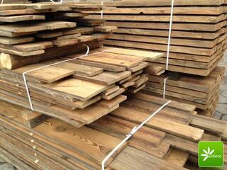 Vieux bois-planches de bardage