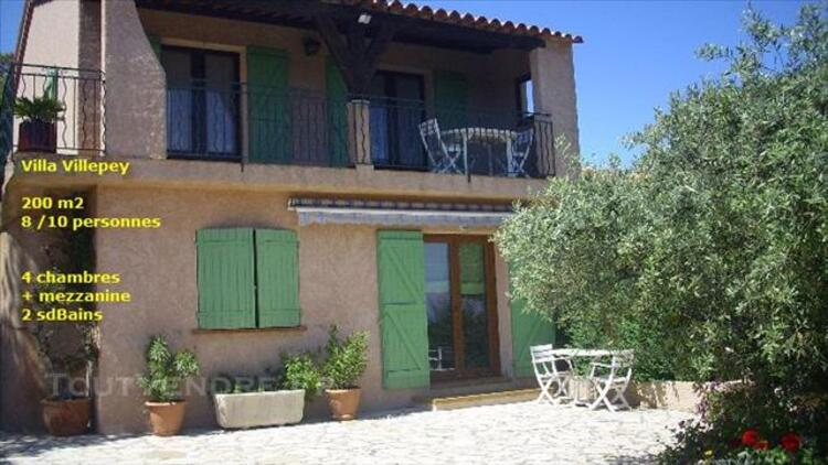 Villa 10p Piscine à Saint Aygulf Villepey 83370 VAR  Provenc 83340836