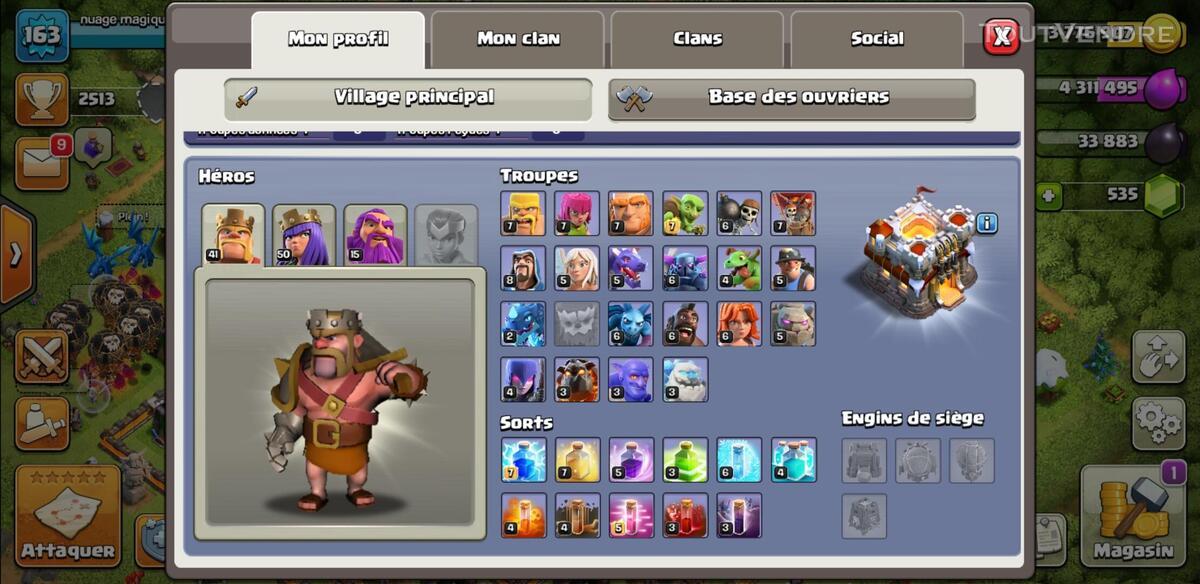 Village clash of clan 644994541