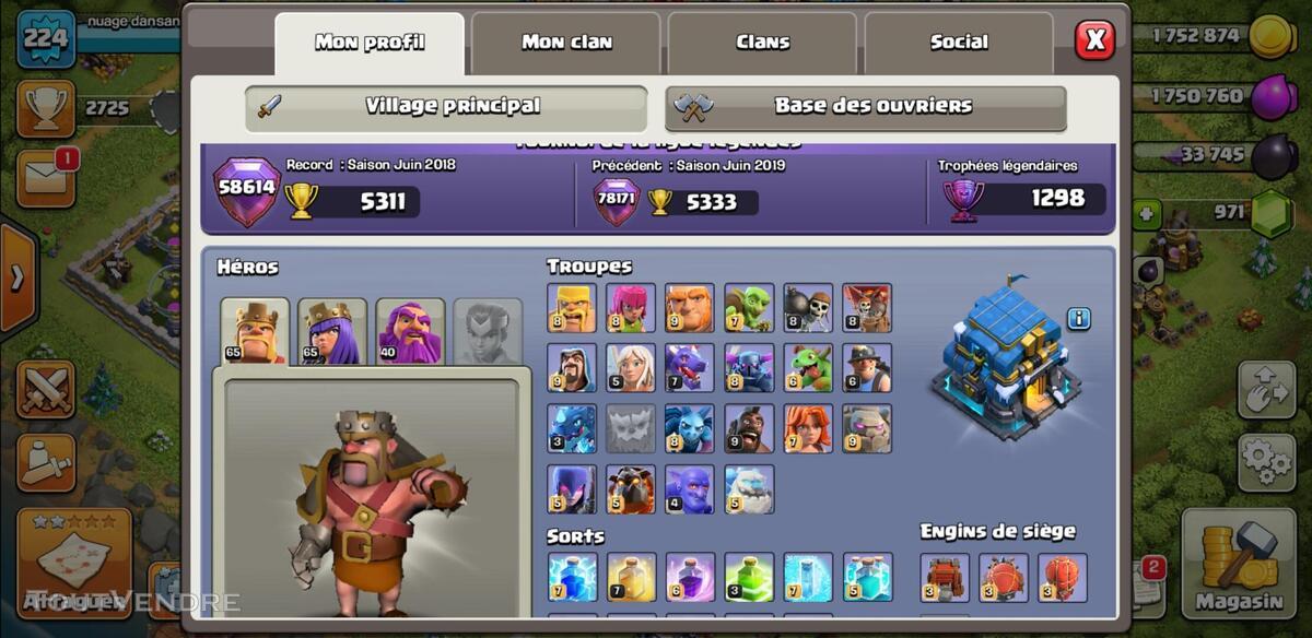 Village clash of clan 644994610