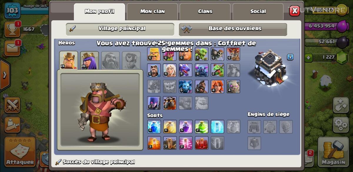 Village clash of clan 644994646