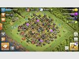 Village Clash Of Clans, HDV 11 avancé, niveau 127