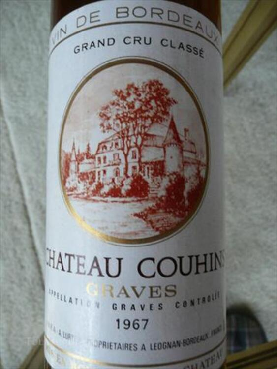 VIN CHATEAU COUHINS 1967 66137489